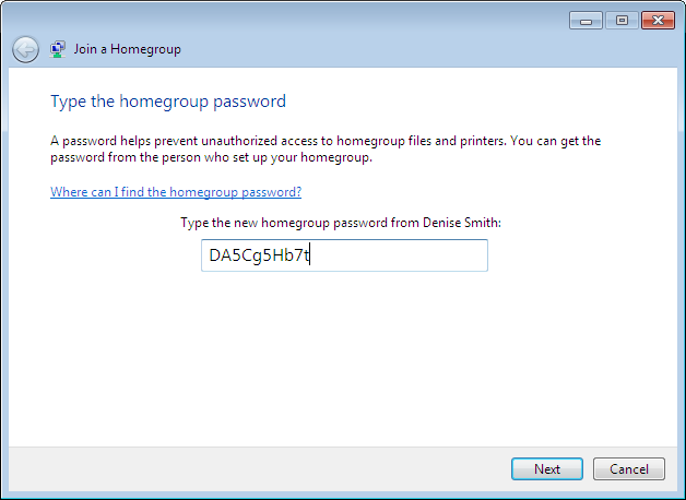 how to create a homegroup network
